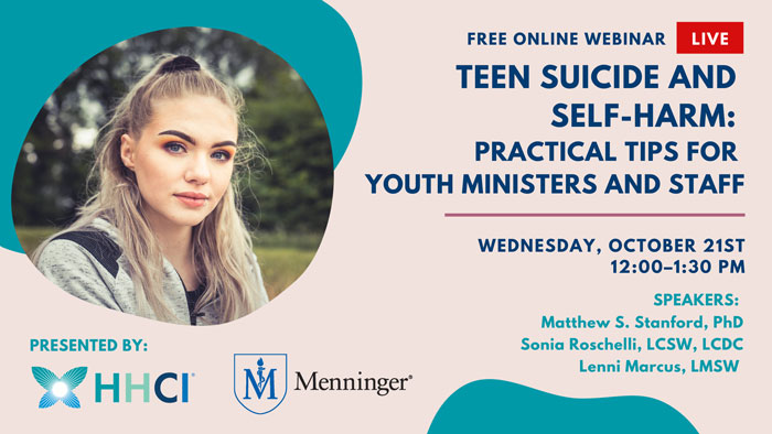 Teen Suicide and Self-Harm: Practical Tips for Youth Ministers and Staff
