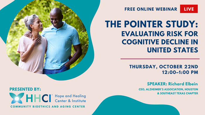 The Pointer Study: Evaluating Risk for Cognitive Decline in United States