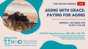 CBAC: Aging with Grace: Paying for Aging