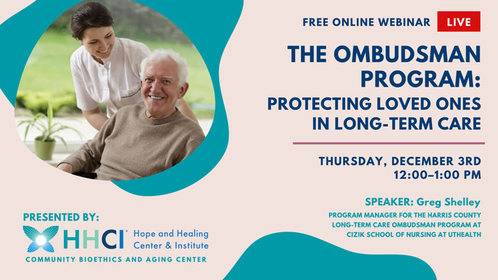 The Ombudsman Program: Protecting Loved Ones in Long-term Care