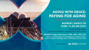 Aging with Grace: Paying for Aging