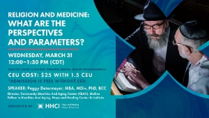 Religion and Medicine: What Are the Perspectives and Parameters? - CEU