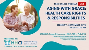 CBAC: Aging with Grace: Health Care Rights & Responsibilities