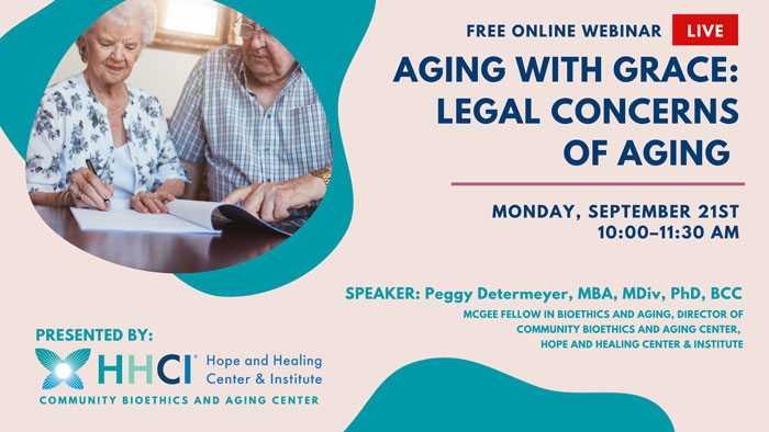CBAC: Aging with Grace: Legal Concerns of Aging