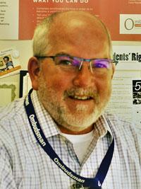 Greg Shelley, Program Manager for the Harris County Long-term Care Ombudsman Program at Cizik School of Nursing at UTHealth