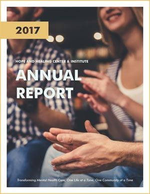 2017 annual report for the hope and healing center