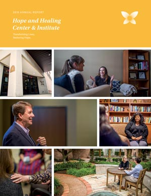 2019 annual report for the hope and healing center