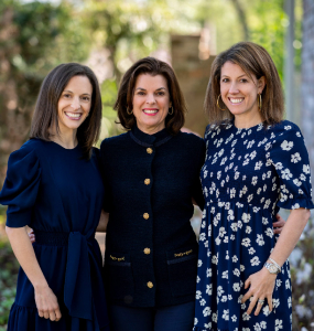 Emily Duncan, Eliza Duncan, Kate Duncan Oshins: Chairs of the 2021 Annual Chrysalis Luncheon