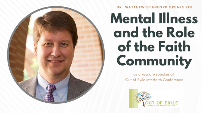 Matthew S. Stanford- Keynote Speaker – Out of Exile Interfaith Conference – Nov. 19, 2015